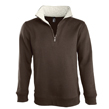 SCOTT 47300 - Sweat-shirt col camionneur zippé ML C/P 50/50 280g [ SOL'S ]
